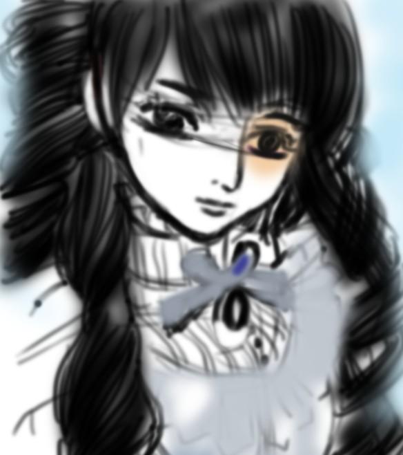 教你用ps画漫画美少女~~我的涂鸦教程