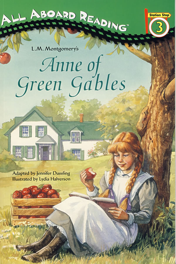 绿山墙的安妮简笔画,绿山墙的安妮的绘图-安妮的熊