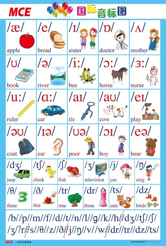 英语国际音标标准发音--为孩子收藏吧图片