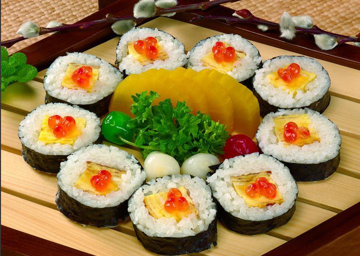 可爱寿司的做法图解