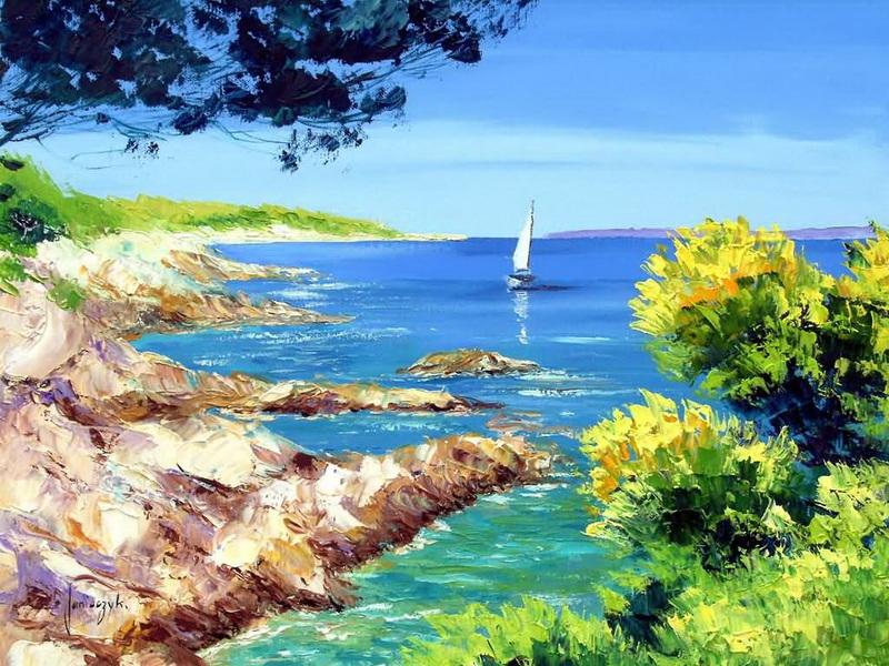 风景,以阳光,郁金香,薰衣草等田园风光为主,向我们展现出宁静,开阔,阳
