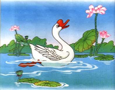 小学生必备古诗词70首之三《咏鹅》-嫣然学习河东区小学盘山道图片