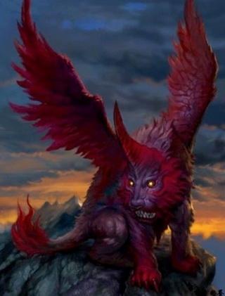 中国 神兽/上古异兽之四大凶兽:《穷奇》