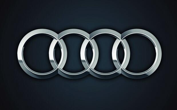 奥迪轿车的标志为四个圆环