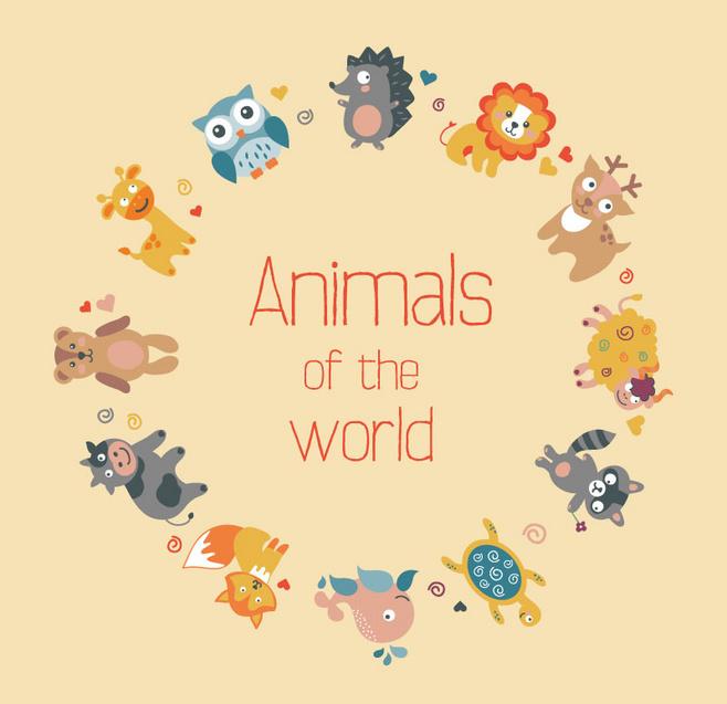 意语常见动物词汇