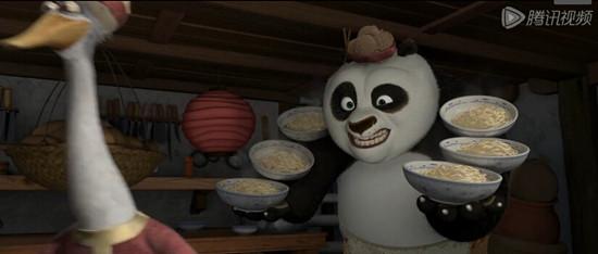 2014.12.13 第一期 功夫熊猫 kung fu panda 片段1 单词