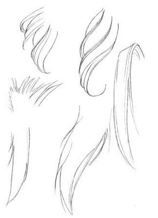基础篇 02 头发的画法